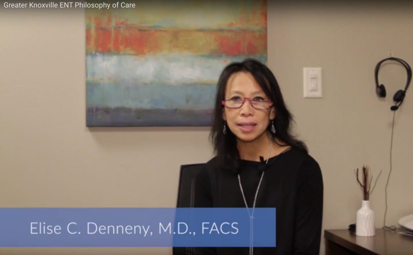 Dr. Denneny discusses GKENT's Philosophy of Care