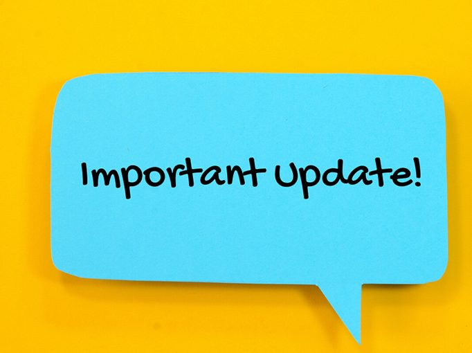 Important Update for Audiology Patients