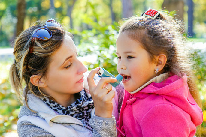 Childhood Asthma: Symptoms, Diagnosis, and Treatment